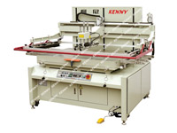 3/4-AUTOMATIC SCREEN PRINTING MACHINE WITH THE CONVEYOR BELT TPM-D/C Series