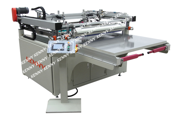 3/4 AUTOMATIC SLIDING TABLE SCREEN PRINTING MACHINETFS Series